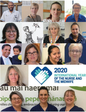 Year of Nurse and Midwife collage 2020